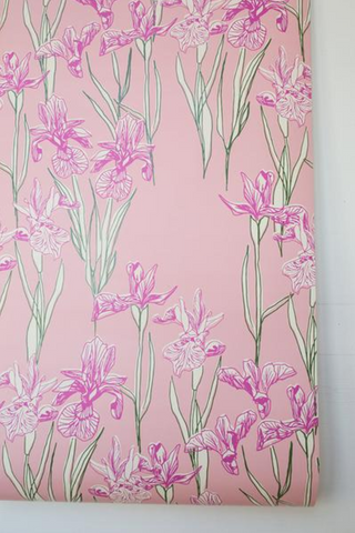 Annabelle Wallpaper: Blushing Pink