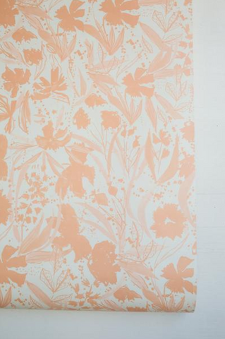 Liv Wallpaper: Apricot