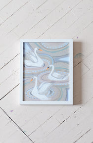 """S"" is for Swan - Print"