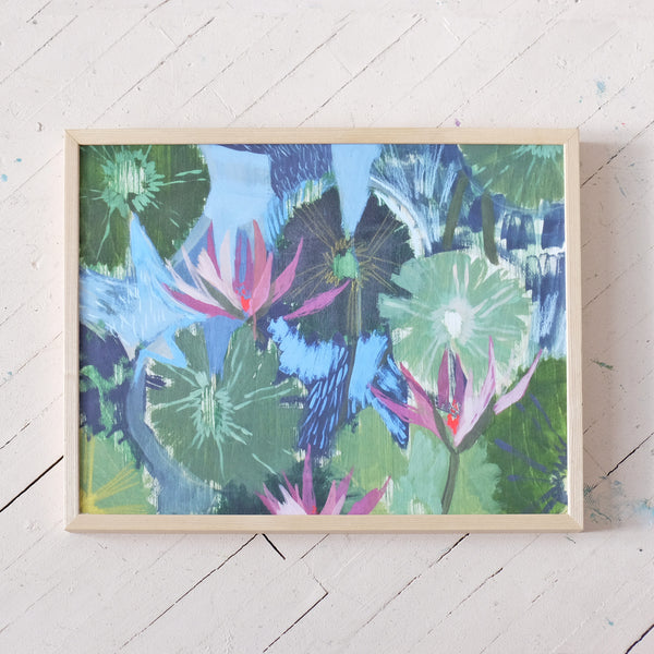 AQUATIC PLANT NO. 10 - PRINT