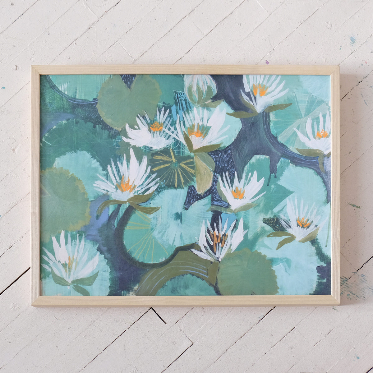Aquatic Plant No. 18 - Print