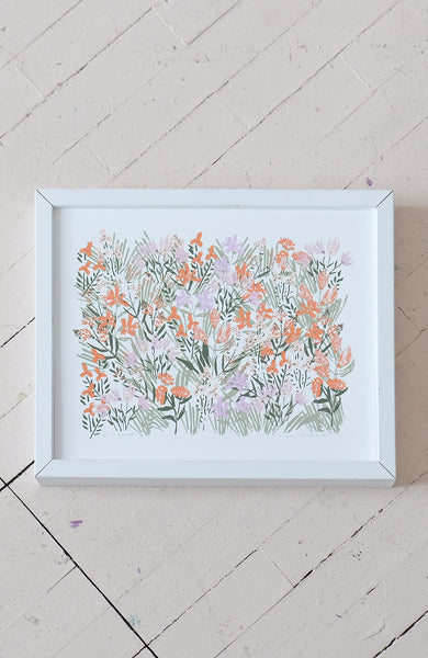 WILDFLOWER - 11x14 SILK SCREEN PRINT
