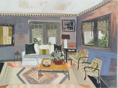 "Katie's Living Room - 30""x40"""
