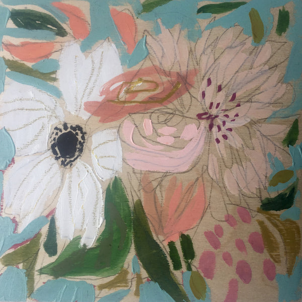 Flowers for Gloria - 9X9