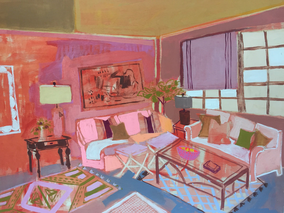 "Elizabeth's Living Room - 30""x40"""