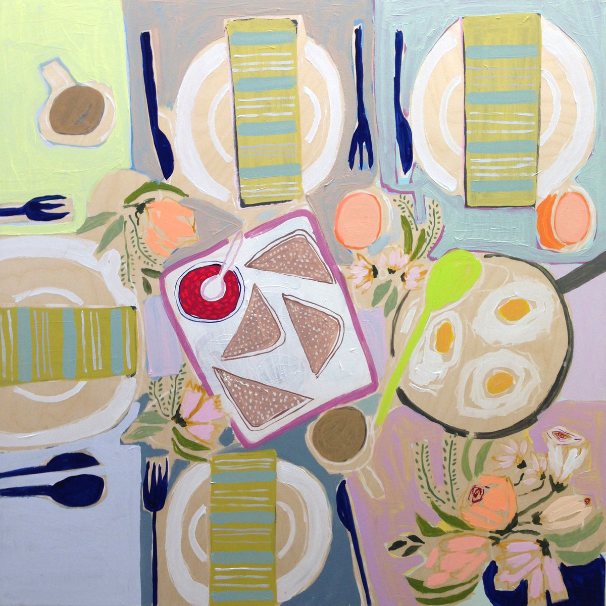 30x30 Tablescape #50