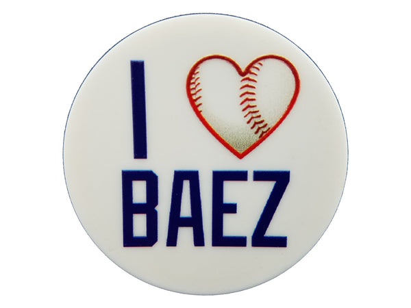 Chicago Sports - I Heart Baez Plate Disc