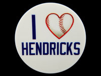 Chicago Sports - I Heart Hendricks Plate Disc