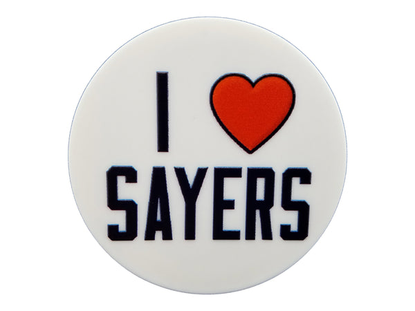 Chicago Sports - I Heart Sayers Plate Disc