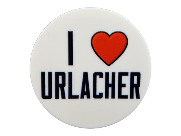 Chicago Sports - I Heart Urlacher Plate Disc