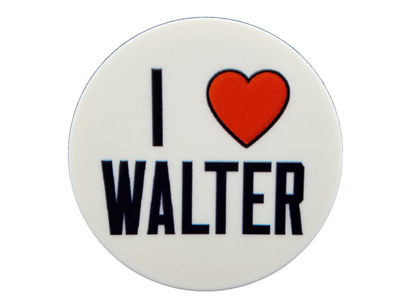 Chicago Sports - I Heart Walter Plate Disc