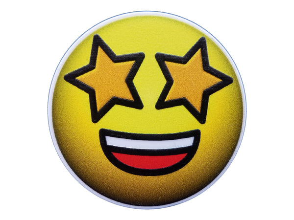Emoji - Star Eyes Emoji Plate Disc