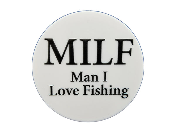 Fishing - MILF Man I Love Fishing Plate Disc