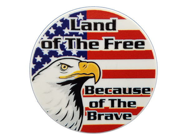 Patriotic - Land Of The Free Plate Disc