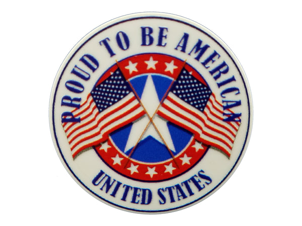 Patriotic - Proud To Be American Plate Disc