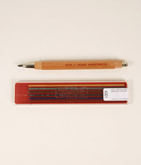 Wooden Mechanical Pencil with Coloured Leads