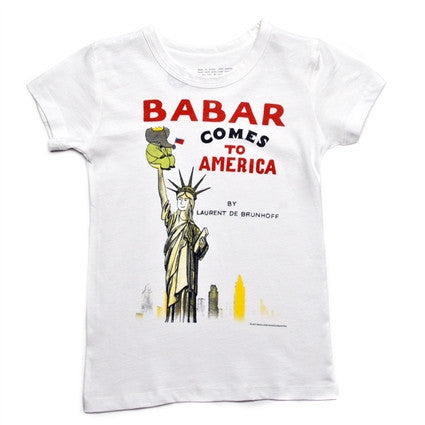 Babar Comes To America Tee