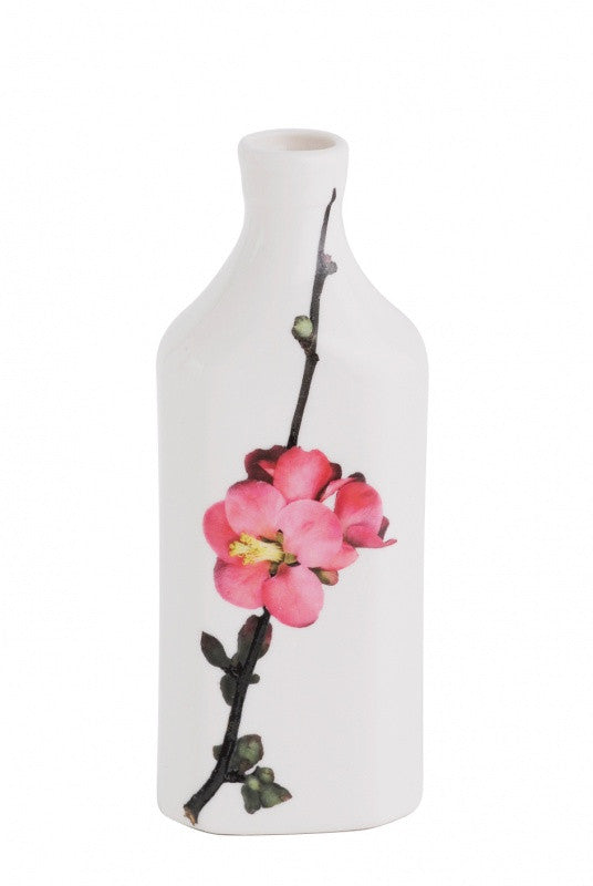Japonica Porcelain Botanical Bottle