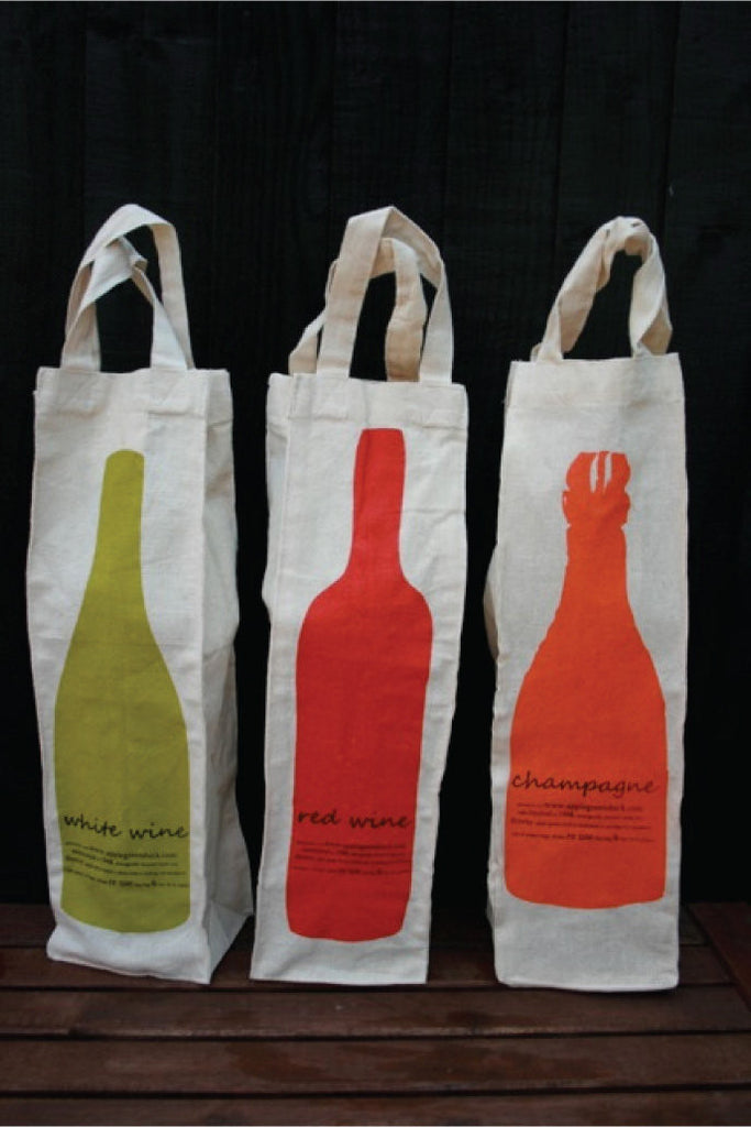 Bottle Bags - Wine, Champagne, Olive Oil