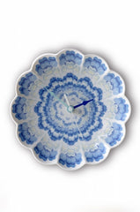 Porcelain Clock Concentric Flora - 3 Colours