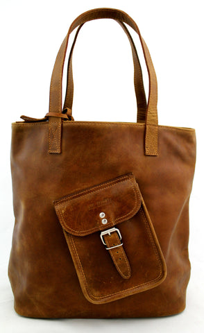 Le Cabas Leather Tote Bag