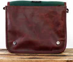 Le Messager Leather Satchel - Medium