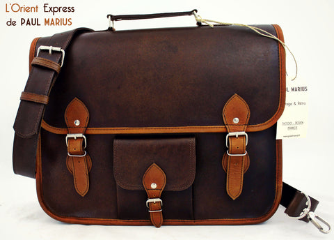 L'Orient Express Leather Satchel - Large