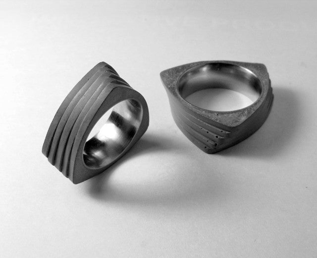 Concrete Twist Ring