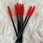 Lash Brush (Black & Red)