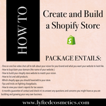 HOW TO CREATE AND BUILD A SHOPIFY STORE