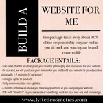 BUILD MY WEBSITE FOR ME