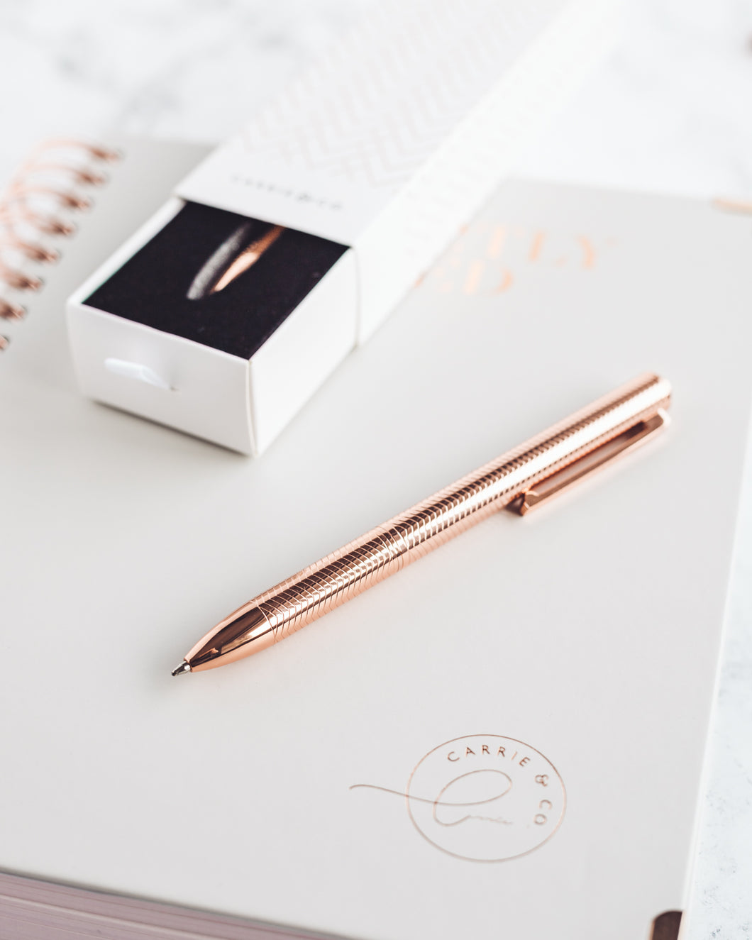 Rose Gold Pen (20% off)
