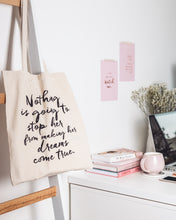 Load image into Gallery viewer, Nothing Is Going To Stop Her, Small Tote Bag