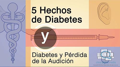 5 Facts Diabetes - Spanish