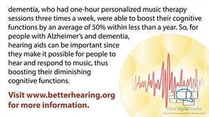 Alzheimer's and Hearing Loss 2 Version 1