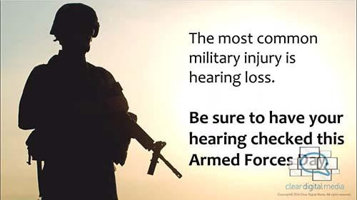 Armed Forces Day - Audiology