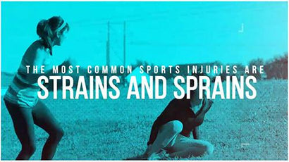The Most Common Sports Injuries