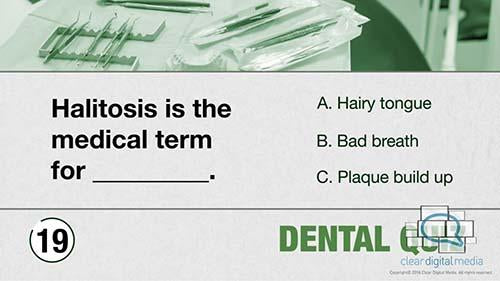 Dental Quiz 8 Version 1
