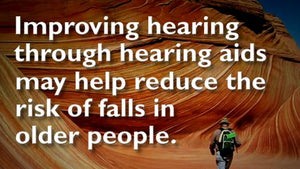 Hearing Stats - Reduces Risk of Falls