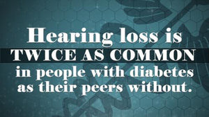 Hearing Stats - Diabetes Twice