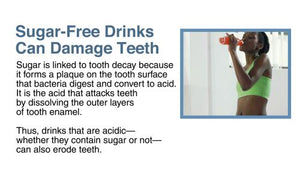 In The Press - Sugar Free Drinks Can Damage Teeth - Version 1