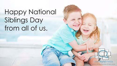 National Sibling's Day- General