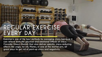 Everyday Health: Regular Exercise