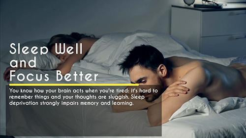 Everyday Health: Sleep Well and Focus Better