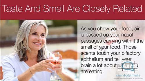 Taste and Smell are Closely Related