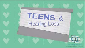 Teens and Hearing Loss 1 Version 2