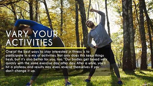 Everyday Health: Vary Your Activities