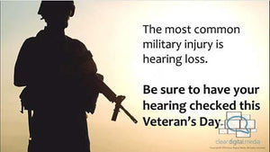 Veteran's Day - Audiology