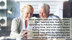 Why Wait to Address Your Hearing Loss