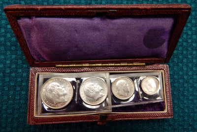 1904 Great Britain Maundy Set in original case - Doelger's Gallery